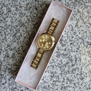COACH Women's Boyfriend 40mm Bracelet Watch, Gold